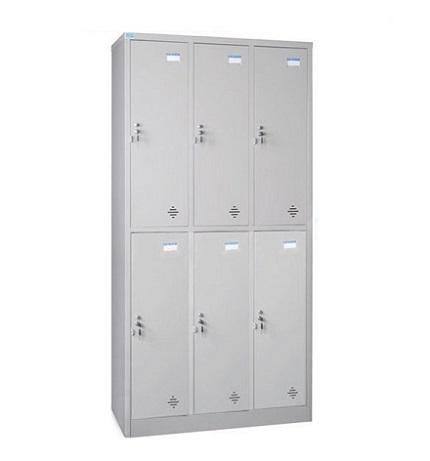 Tủ locker hòa phát 6 ngăn TU982-3K