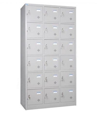 Tủ locker hòa phát 18 ngăn TU986-3K