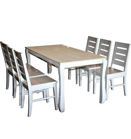 Bộ bàn ghế phòng ăn HGB60, HGG60