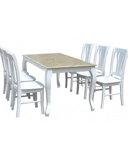 Bộ bàn ghế phòng ăn HGB61, HGG61
