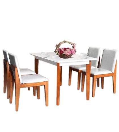 Bộ bàn ghế phòng ăn HGB62B, HGG62