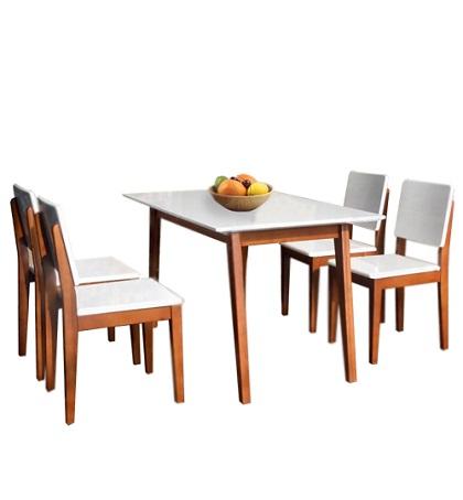 Bộ bàn ghế phòng ăn HGB63B, HGG63