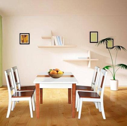 Bộ bàn ghế phòng ăn BA117, GA117