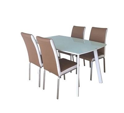 Bộ bàn ghế phòng ăn B60-G60S