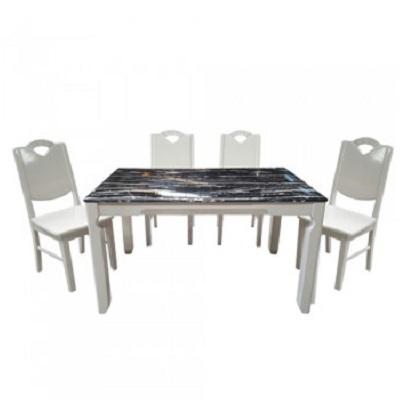 Bộ bàn ghế phòng ăn HGB65B, HGG65