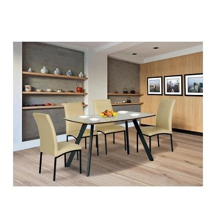 Bộ bàn ghế ăn khung thép B50, G50